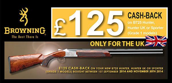 B725 Cash-Back
