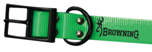 DOG COLLAR, HUNTER PU 2,5x60cm,  GREEN