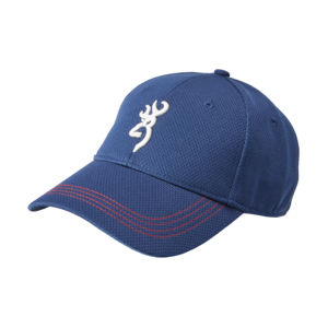 WHITE BUCK CAP BLUE