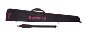 MARKSMAN GUNSLIP IN DARK/PINK FOR SHOTGUN 136CM