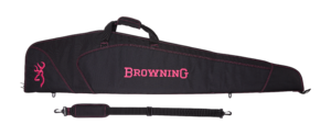 MARKSMAN GUNSLIP IN DARK/PINK FOR RIFLE WITH SCOPE 134CM